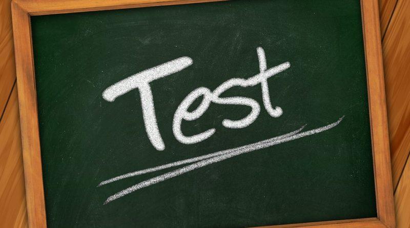 Chyby v přijímacích testech